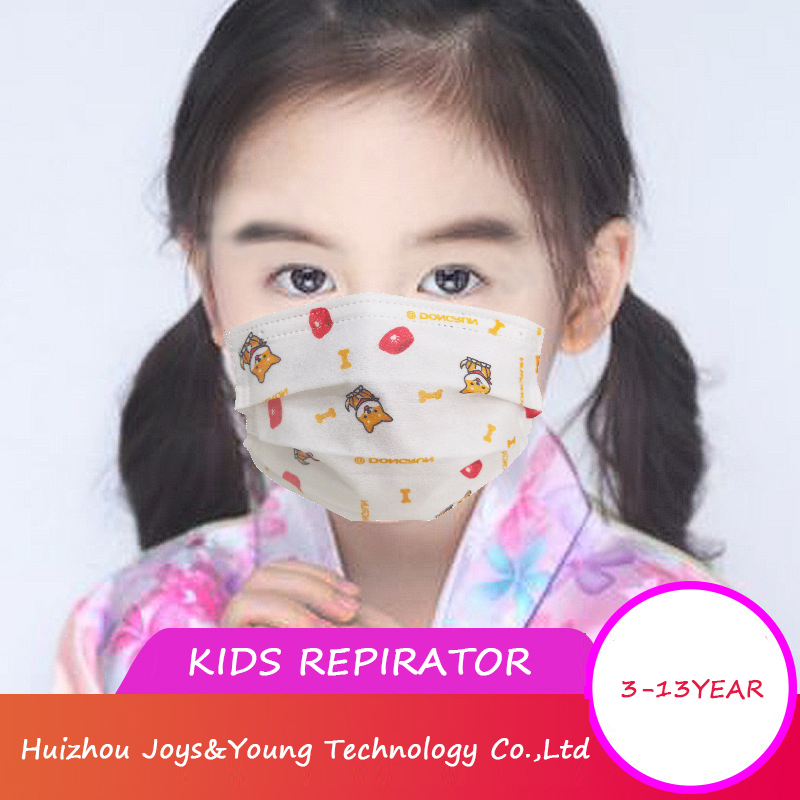 Washable Kids Cotton Dust Mask with Various Colors